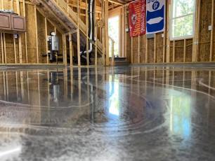 Marble Metallic Epoxy Floor