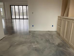 Metallic Marble Epoxy Floor-3