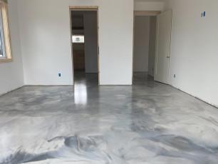 Metallic Marble Epoxy Floor-4