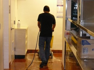 Polished Concrete Maintenance