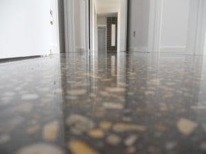 Polished Concrete Floor Up Close polished concrete Terrazzo Vs Polished Concrete Polished Concrete Floor Up Close 2 300x225