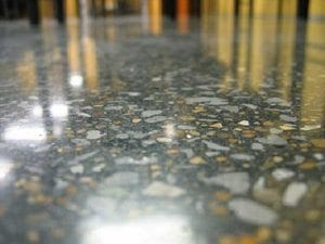 Polished Concrete Floor Up Close