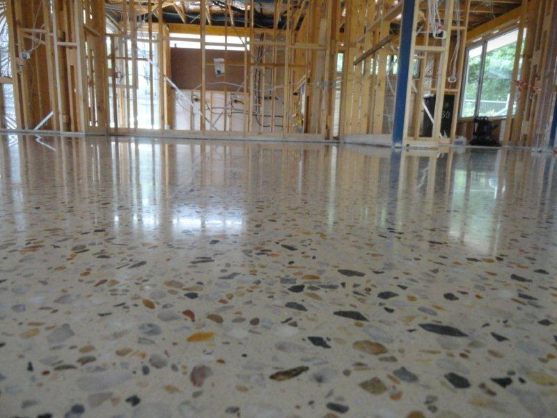 Polished Concrete Glossy Floors
