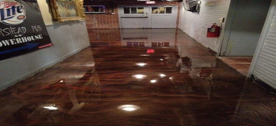 Epoxy Flooring Options Glossy Floors