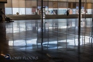 Sav-A-Lot Springfield Missouri - Polished Concrete Floors