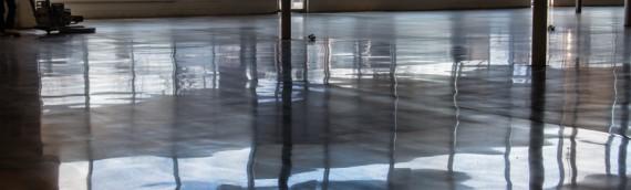 Save-A-Lot Polished Concrete Floor