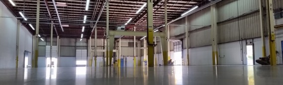 Polished Concrete Warehouse Tulsa