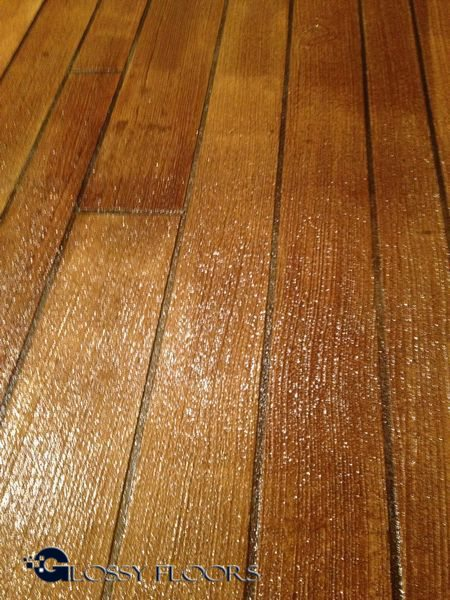 Concrete Wood Floors : Concrete floors that look like wood™ glossy