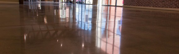 Polished Concrete Project – Ashley Furniture
