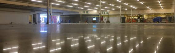 Polished Concrete Project – Price Cutter
