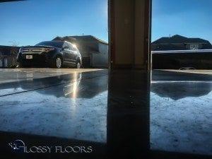 Polished Concrete Garage Floor