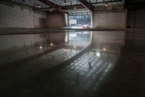 Polished Concrete Floors - U-Haul
