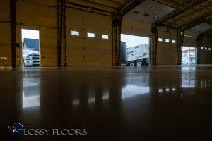 Polished Concrete Warehouse Floors - Gallatin Fire Department-9