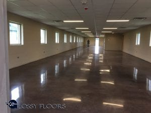 Polished Concrete Floors - Camp Gruber Military Base-10
