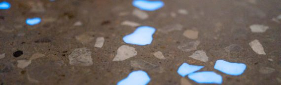 Polished Concrete Floors – Glow In The Dark Exposed Aggregate
