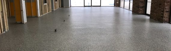 Epoxy Flake Showroom Floor