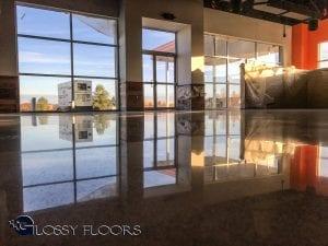 polished concrete restaurant floors