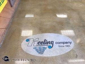 Polished Concrete Logo