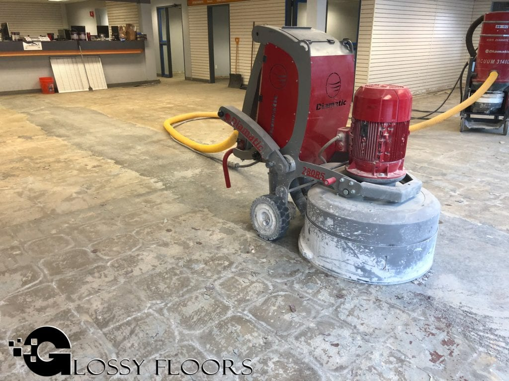 Polishing Concrete Floors in Arkansas