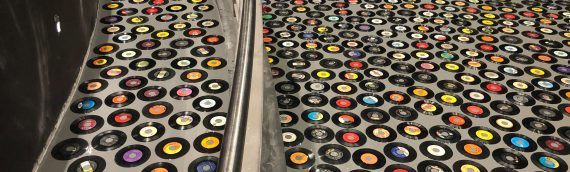 Hard Rock Hotel and Casino Epoxy Record Floor