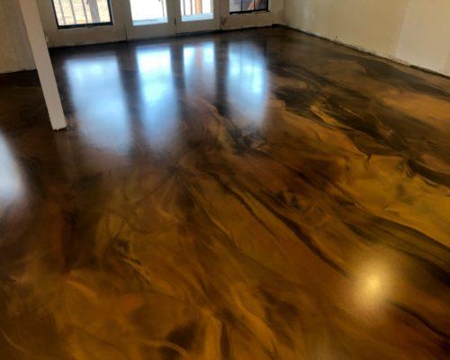 Metallic Epoxy Floor Coatings Unique