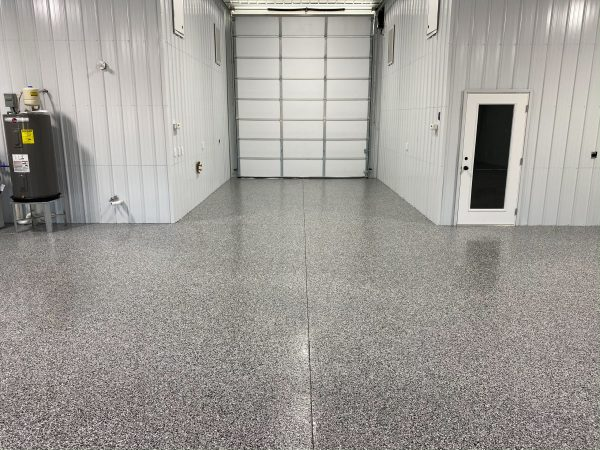 Epoxy Flake Shop Flooring