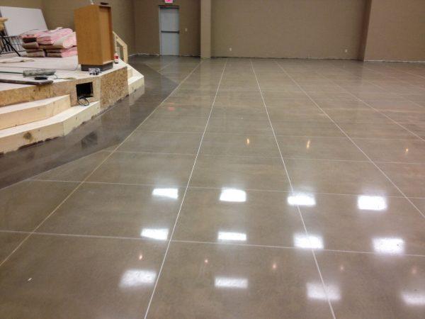 Designer Polished Concrete Floor in Siloam Springs