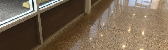 Siloam Springs Polished Concrete Flooring