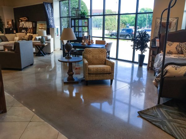 Polished Concrete in Siloam Springs