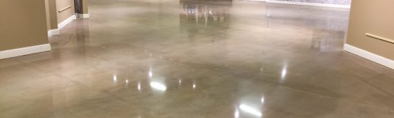 Fort Smith Polished Concrete Flooring