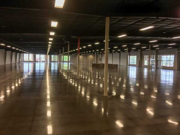 Polished Concrete Warehouse in Fort Smith, Arkansas