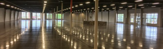 Fort Smith Warehouse Floor Polishing