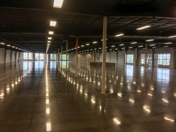 Warehouse Floor Polishing
