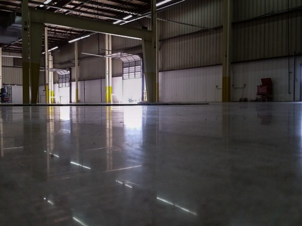 Fort Smith Polished Concrete Warehouse Floor