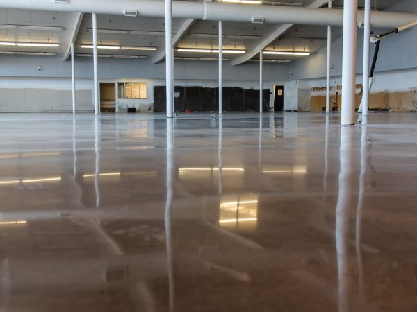 Polished Concrete Warehouse Floor in Fort Smith, Arkansas