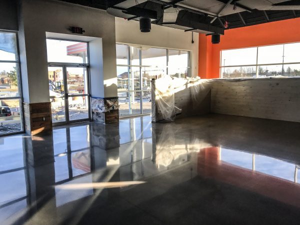 Springfield Polished Concrete Retail Store