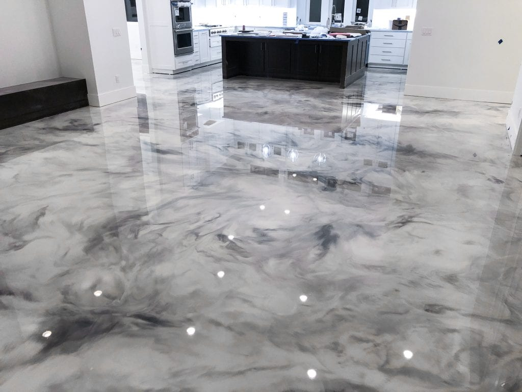 Xtreme FX Epoxy - The Best Epoxy For A Metallic Floor