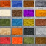 Metallic Color Chart