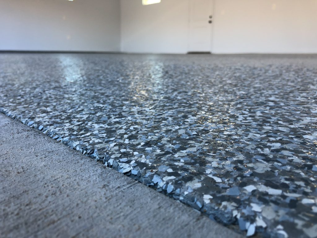 Schedule Your Epoxy Flake Floor